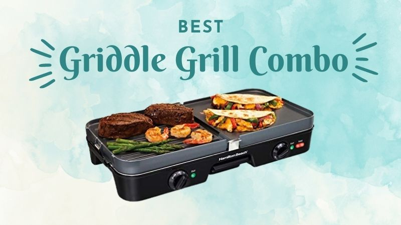 Griddle Grill Combo