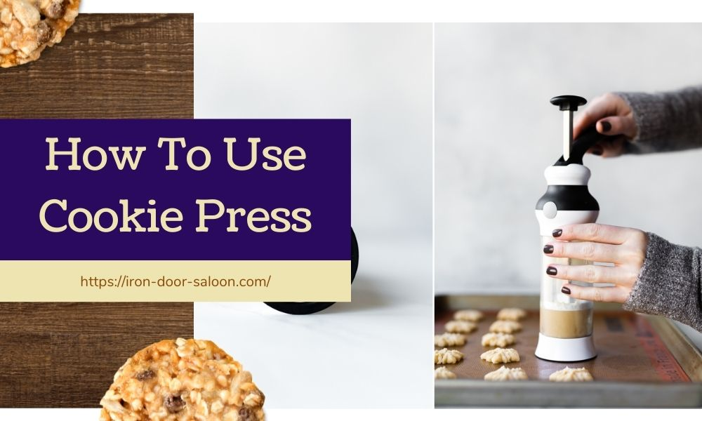 How to Use Cookie Presses