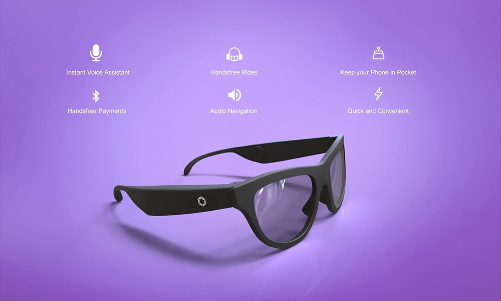 Safety Glasses With Bluetooth Headphones